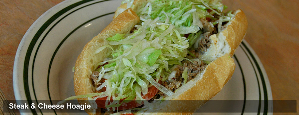 Steak and Cheese Hoagie